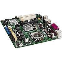 Intel GRANT COUNTY FSB800 DDR LAN 4SATA 2PCI / 2PCIE socket 775 MATX moederbord