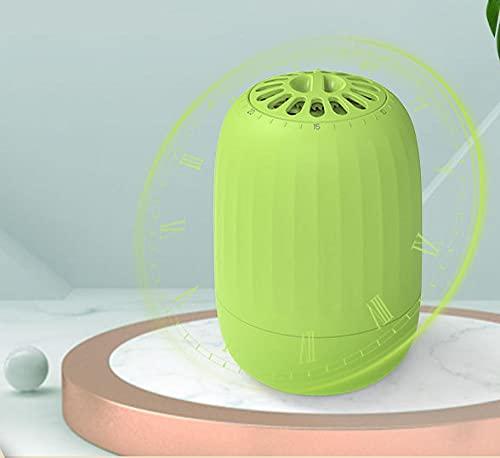 Ozono Refrigerador Purificador, Refrigerador Esterilizador Desodorante, Mini Absorbente de Olor Eliminador de Olor Purificador de Aire Portátil, Ultrasilencioso Generador de Ozono, Antibacteriano 99%
