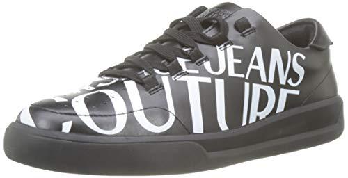 Versace Jeans Shoes, Sneaker Uomo, Nero (Nero 899), 39 EU