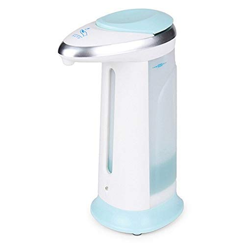 SMARTBUYER :400ML Touchless Automatic Induction Liquid Soap Dispenser Smart Sensor Soap Dispenser Pump for Bathroom Kitchen