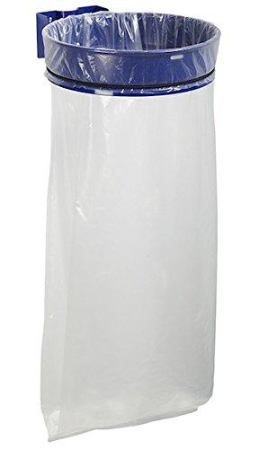 Rossignol Müllsackhalterung 110 Liter ohne Deckel zur Wand- oder Pfostenbefestigung, Farbe:Blau