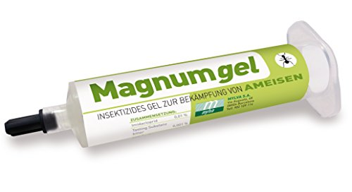 Magnumgel Ameisen 40g - Insektizides Gel zur Bekämpfung von Ameisen mit Imidacloprid