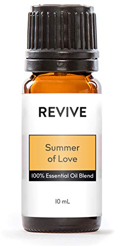 Revive Essential Oils Summer of Love -100% Pure Therapeutic Grade, for Diffuser, Humidifier, Massage, Aromatherapy, Skin & Hair Care - Cruelty Free - Unrefined Oils with No Fillers.