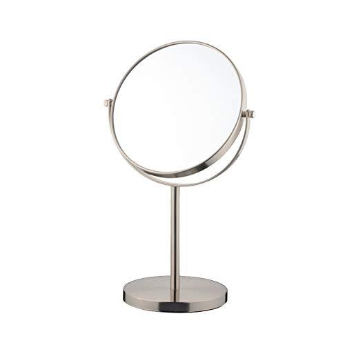 Miroir De Maquillage Double Miroir Pivotant À 360 °, Grossissement 3X,17 * 15 * 34.8