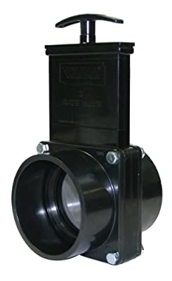 "Valterra 5301 ABS Gate Valve, Black, 3"" Slip by Valterra Products"