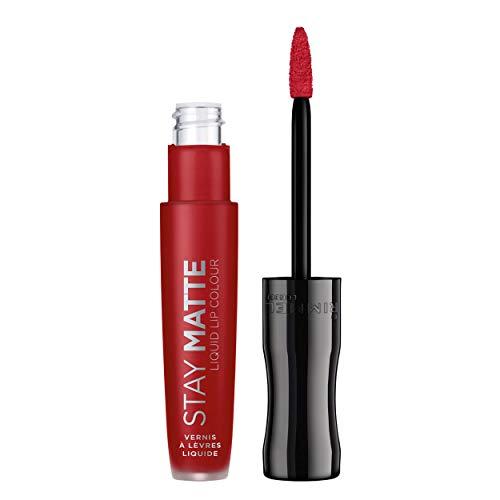 Rimmel - Rouge à Lèvres Stay Matte Liquide - Fini Mat - Waterproof et Sans Transfert - 500 Fire Starter - 5,5ml