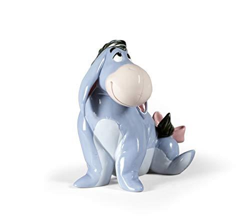 LLADRÓ Eeyore Figurine. Porcelain Eeyore (Disney) Figure.
