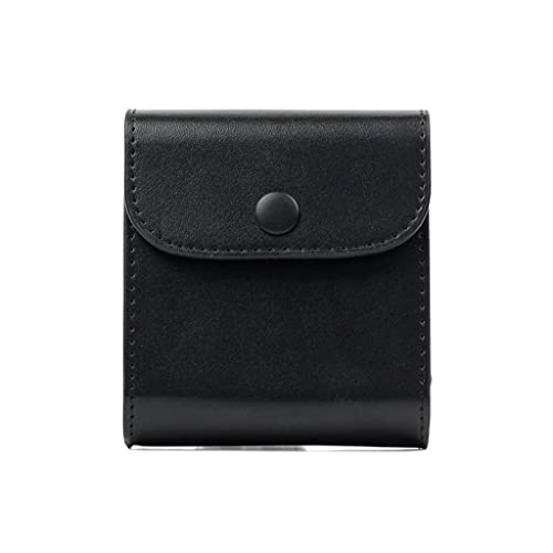 RYSF Mini Película Impermeable PU Bolsa De Almacenamiento De Fotos De Cuero Funda De Bolsillo para Cámara Fuji Square SQ20 SQ10 SQ6 SP-3 (Color : Black)