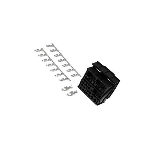 800015 Kit plug Quadlock PIN: 52 black Car model: VW 2011-> 4CARMEDIA