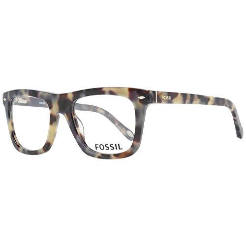 Fossil Brillengestelle FOS 6068 Rechteckig Brillengestelle 51, Mehrfarbig
