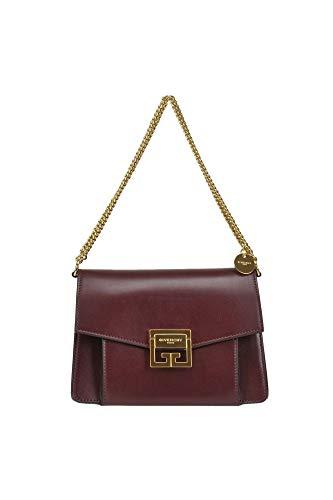 Luxury Fashion | Givenchy Dames MCGLBRE0000G7108E Bordeaux Leer Schoudertassen | Seizoen Outlet