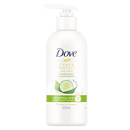 Dove Hand Wash, Moisturising & Removes Bacteria, Refreshing Care 330ml