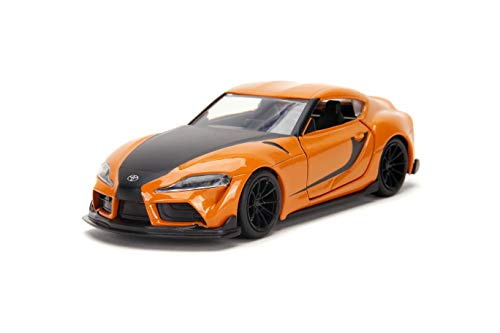 Jada Toys Fast & Furious 1:32 2020 Toyota Supra Die-cast Car, Toys for Kids and Adults