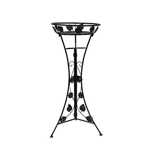 mesa de hierro para plantas
