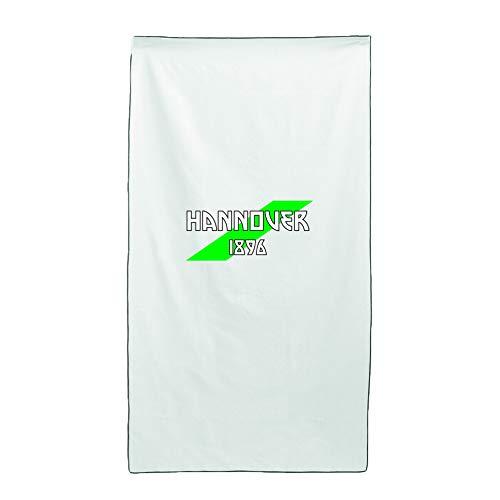 Tipolitografia Ghisleri Handtuch, Strandtuch, Handtuch weiß, Flagge Hannover 70 x 140 cm