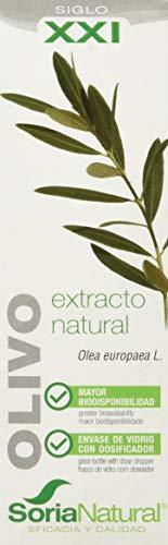 Soria Natural Extracto Olivo XXI - 2 Paquetes de 1 x 50 ml - Total: 100 ml