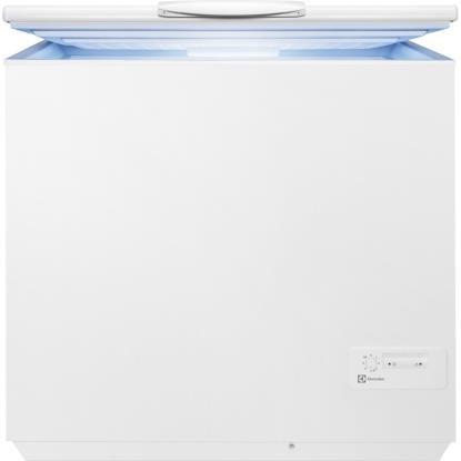 Electrolux EC2800AOW2 Gefriertruhe/Gefrierschrank 260L A+ Weiß – (Baúl, 260 l, 16 kg/24h, SN-T, A+, Weiß)
