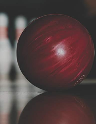 Bowling Scorebuch: Trainingstagebuch für dein Bowlingtraining und deine Bowlingspiele ♦ Führe Protokoll, notiere jeden Strike, Spare und deine ... A4+ Format ♦ Motiv: Rote Bowlingkugel