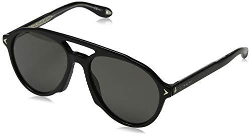 Givenchy GV 7076/S M9 807 56 Occhiali da Sole, Nero (Black/Grey), Uomo