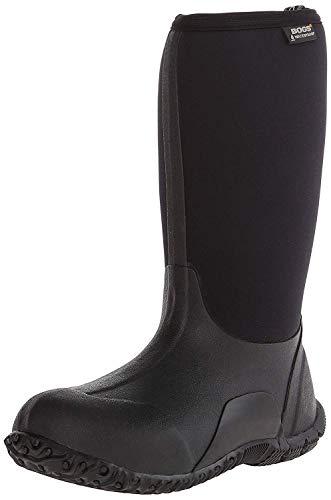 Bogs Classic No Handles Waterproof Insulated Rain Boot (Toddler/Little Kid/Big Kid), Black, 5 M US Big Kid