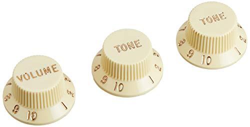 Fender Knobs One Volume, Two Tone, Vintaged thumbnail image