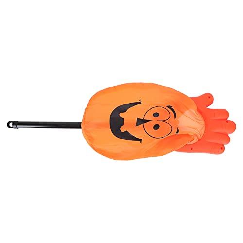 ABOOFAN Bolsa de Dulces de Halloween Bolsa de Plástico Calabaza Bandolera Calabaza Patrón de Fantasma Tratar a Goody Snake Bolsas de Regalo Halloween Fiesta Decoración Suministros Favores