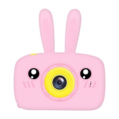 K9 Bunny Cámara infantil con tarjeta de memoria 8G HD multifunción cámara de fotos y vídeo cámara digital para niños [ rosa ]