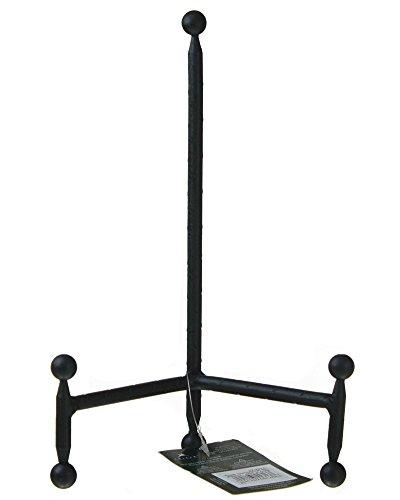 Tripar 12' Modern Black Tripod Easel for Pictures, Artwork and Platters