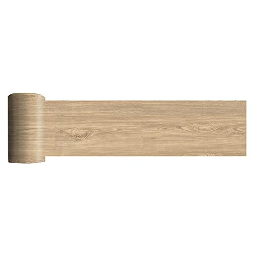 QOTSTEOS Self-Adhesive Floor Sticker, Vinyl Flooring Tiles Waterproof Peel and Stick Tiles Wall Stickers, Floor Plank Sticker for Home Decor, 118.11x7.87inch(C)