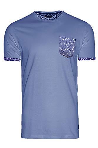 BRAVE SOUL Camiseta de cuello redondo para hombre.
