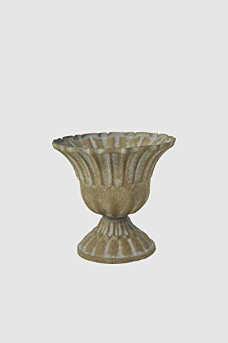 Vintage Home Dekoschale Kelch Schale Pokal H 11cm Teelichthalter Amphore