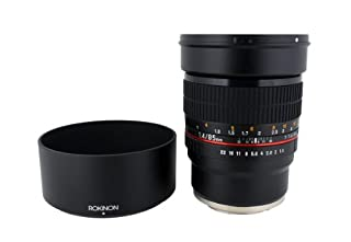 Rokinon 85M-FX 85mm F1.4 Ultra Wide Fixed Lens for Fujifilm X-Mount Cameras (B00HAF164C) | Amazon price tracker / tracking, Amazon price history charts, Amazon price watches, Amazon price drop alerts