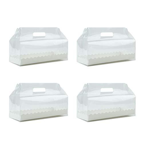BESTonZON Caja Almacenamiento desechable plástico