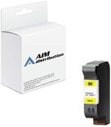 AIM Compatible Replacement for HP NO. 50 Yellow Inkjet (1600 Page Yield) (51650Y) - Generic