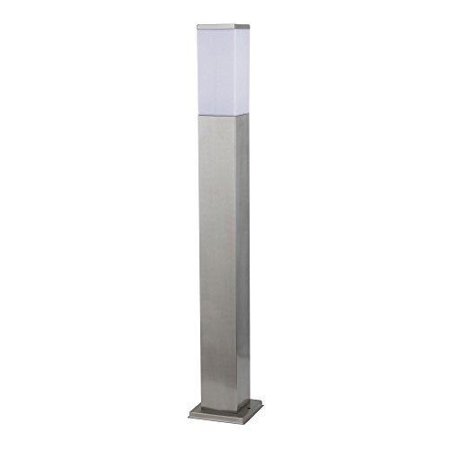 Aussenleuchte 446 80 cm Standleuchte Aussenstandlampe Standlampe AussenStandleuchte Edelstahl E27 Fassung