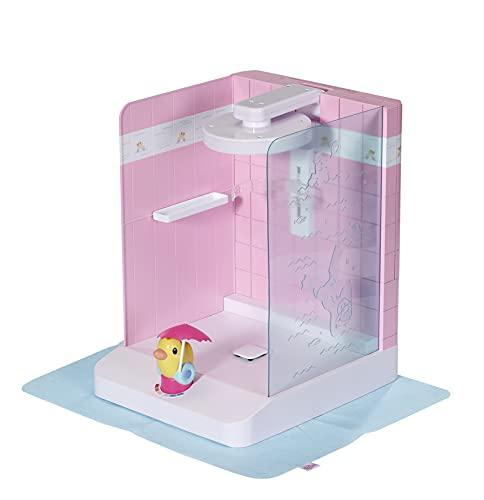 Zapf Creation 830604 BABY born Bath Walk in Shower - Begehbare Puppendusche mit echtem Wasser