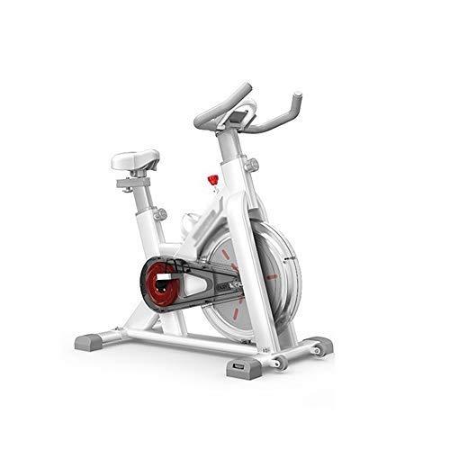 XJWWW-URG Estacionaria silencioso de transmisión del cinturón Ciclo de la Bici de Bicicleta de Ejercicios, Ritmo cardíaco, Monitor LCD, Asiento Ajustable y Manillar for el hogar Cardio Workout U