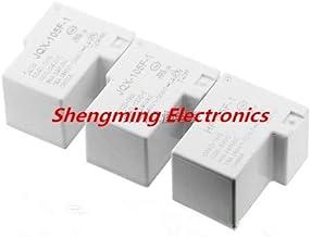 Laliva 2pcs 4pins HF- JQX-105F-1-005D-1HS JQX-105F-1-012D-1HS JQX-105F-1-024D-1HS 5V 12V 24V 30A 240VAC Relay - (Color: 12VDC)