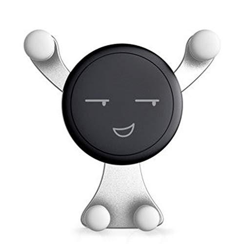 Accessori universali per auto Universali senza supporto magnetico per telefono per auto Argento