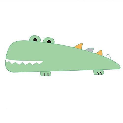 hokkk 55/70cm Cartoon Crocodile Long Pillow Plush Alligator Animals Bolster Pillow Kids Huggable Companion Plush Pillow 55cm pillow