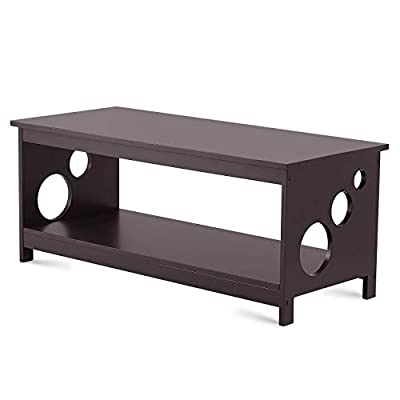 TAOHFE Coffee Table for Living Room - Rectangle Cocktail Furniture - Easy Assembly Centerpiece, Anti-Scratch Wood Surface - Side, End, Center Tables for Home, Apartment, Studio Dorm