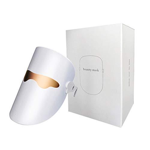 USB Lichttherapie-Maske, Akne-Behandlungen Unbegrenzte Nutzung für die Gesichtspflege Verjüngung LED-Photonenmaske Heilung von Akne Spot Falten Narbe Anti-Aging