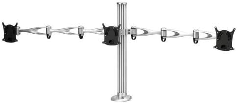 Cotytech Triple Monitor Desk Mount with Triple Arm and Grommet Base (DM-T1A3-G)