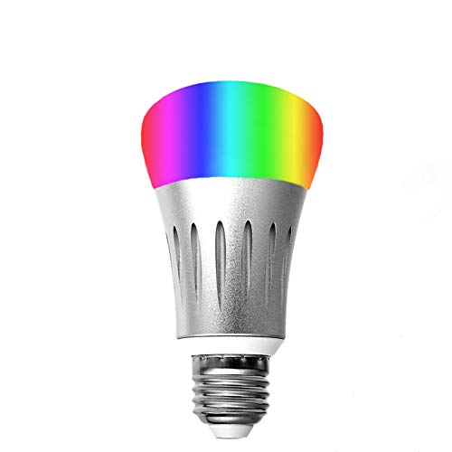 ACONDE Smart Bulb Smart LED Light Bulbs,16 Million Multi-Color Dimmable,Compatible with Alexa,Wi-Fi Remote Control,7 Watts(60 Watts Equivalent),No Hub Need