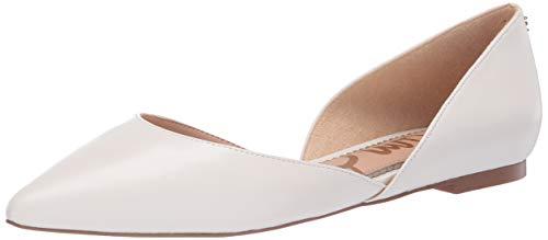 Sam Edelman Damen Ballerina Rodney Flach, Weiá (Bright White Leather), 39.5 EU