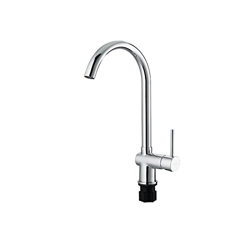 Moned Faucet, Cold And Hot Water, Double Control, Rotary Dish Washing Basin, Kitchen Faucet, Water Faucet, Water Pipequality Assurance Of Modern Simple Luxury, Luxury And Ancient Classic Home Decorat
