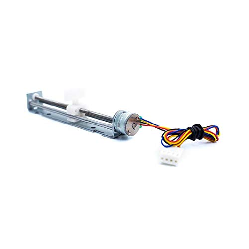 90mm Linear Screw Slider Stepper Motor 5V 2-Phasen-4-Draht-Pull Drückstangenbetätiger