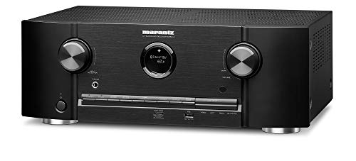 Marantz 4K UHD AV Receiver SR5014 - 7.2 Channel (2019 Model)   Latest Surround Sound Formats   Dolby Virtual Height Elevation   Amazon Alexa Compatible   Online Streaming   Home Automation