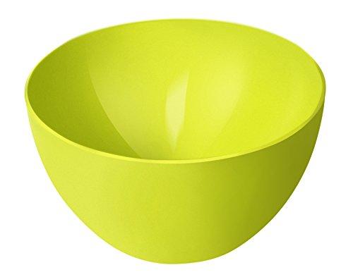 Rotho Schüssel Caruba 0,45l in limetten-grün, Kunststoff, Vert, 12,5 x 12,5 x 6 cm
