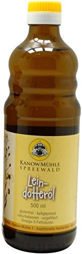 Kanow Mühle, Spreewald - Spreewälder Leindotteröl, Premiumqualität - 500 ml